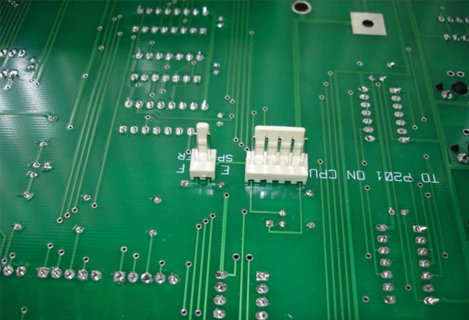 Control panel assembly produced by Design Mark Industries